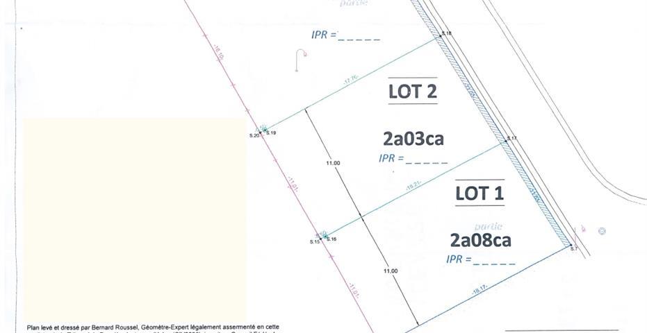 Terrain à bâtir - Bonnert - #4050460-1